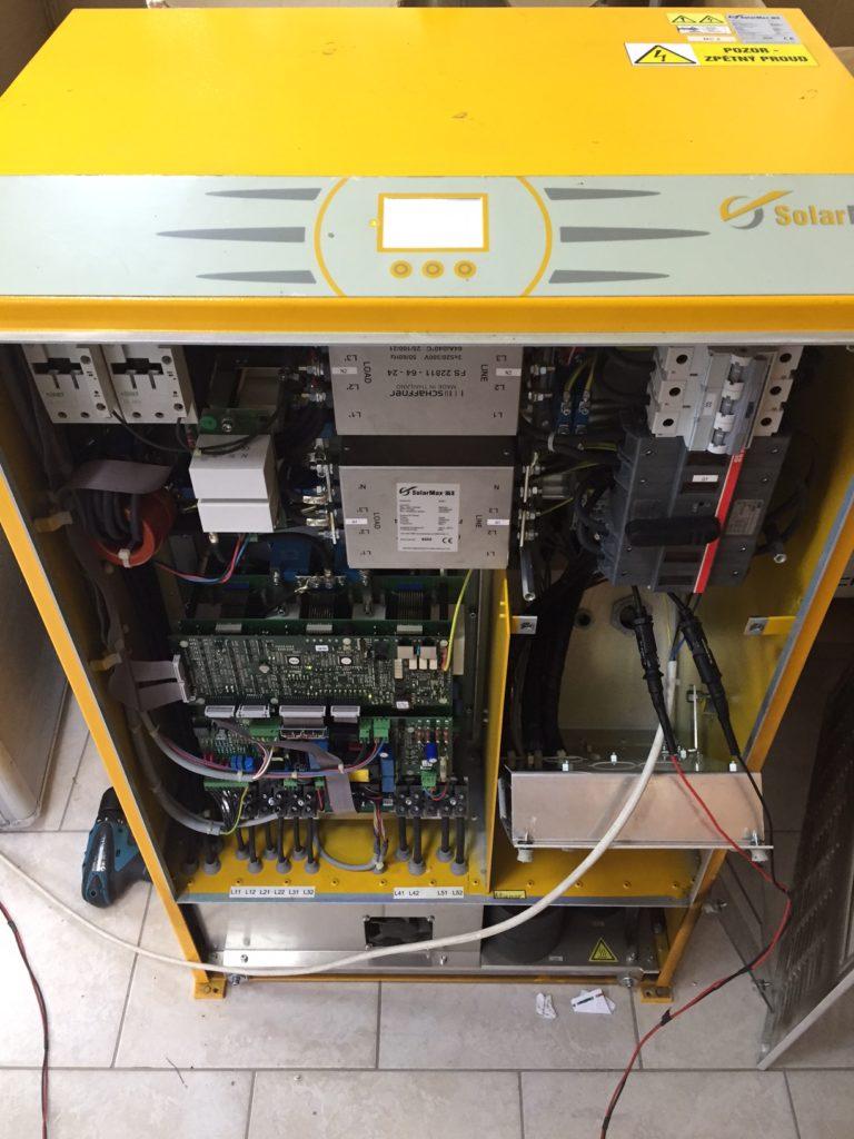 Měnič Solarmax 30KW