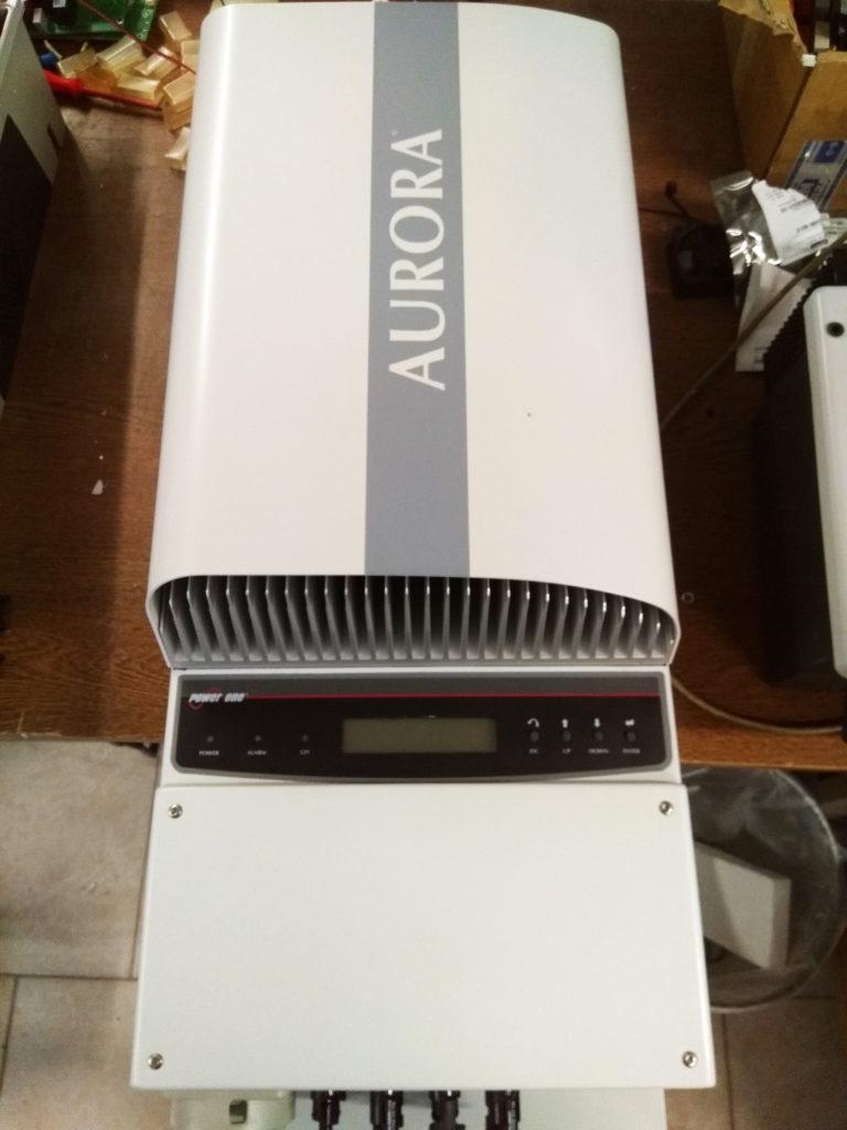 Opravy a servis solárních měničů značky AURORA