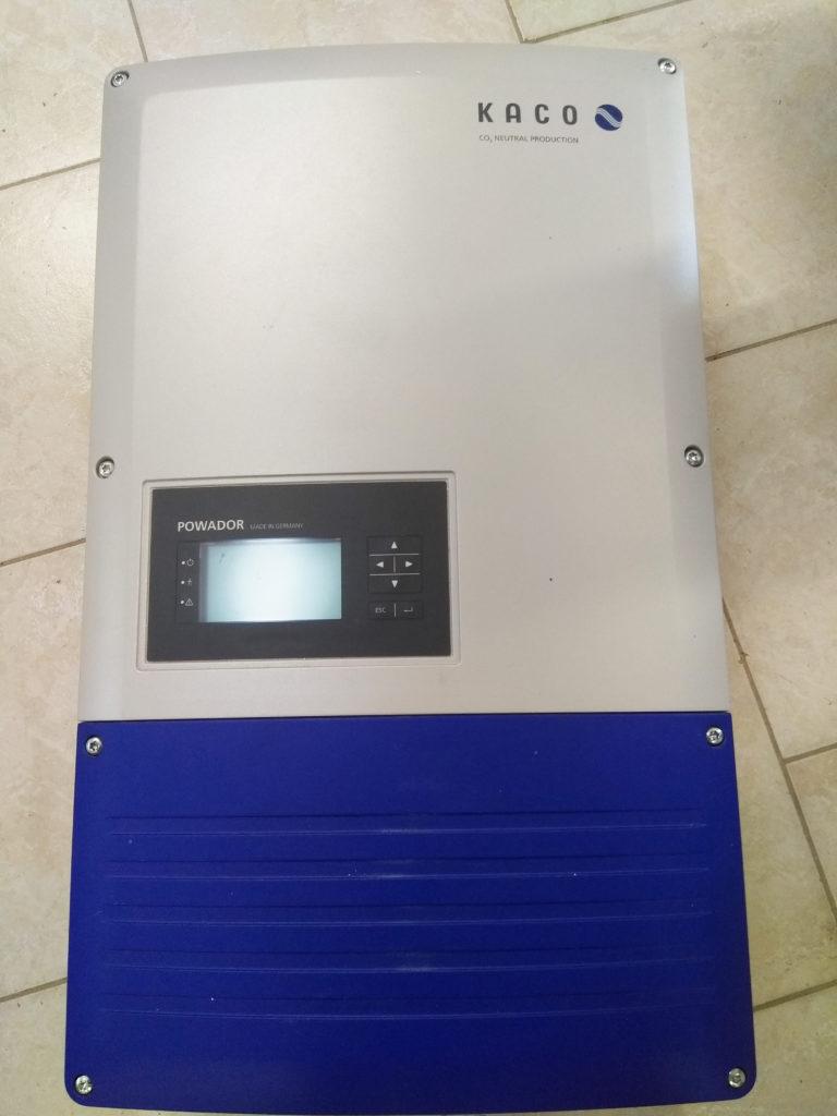Opravy a servis solárních měničů značky Kaco