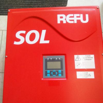 Opravy a servis solárních měničů značky REFU-SOL